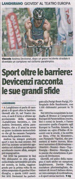 Gazzetta di Parma – 11/01/2016