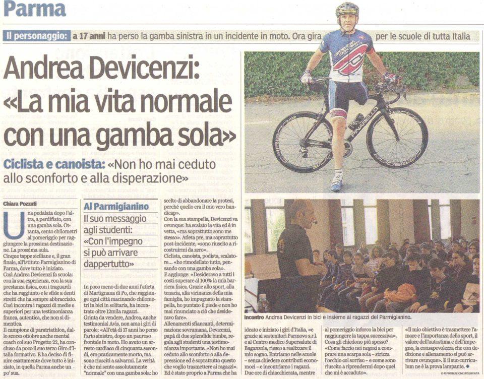 Gazzetta di Parma – 30/03/2016