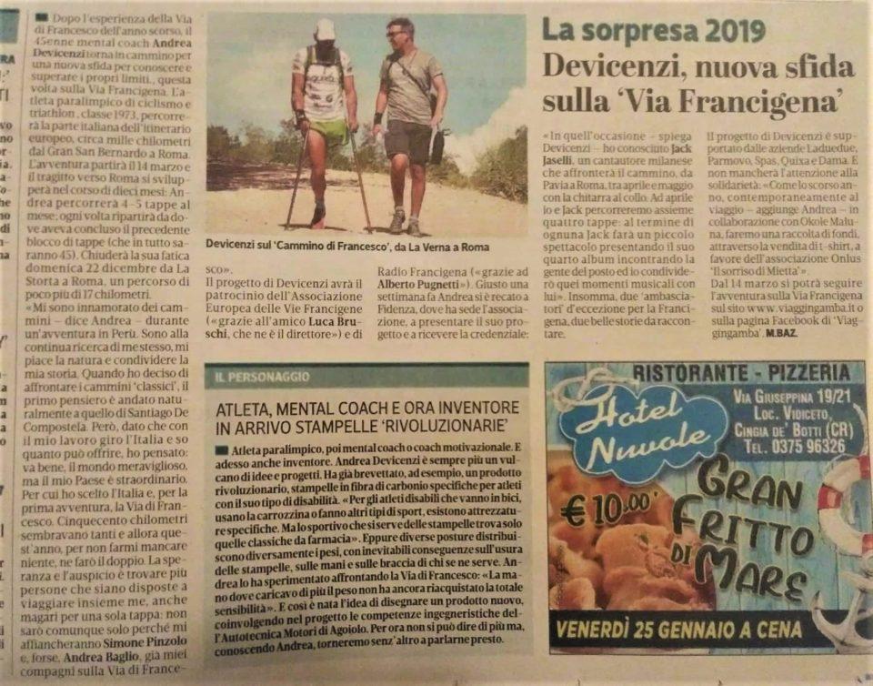 La Provincia – 25/01/2019