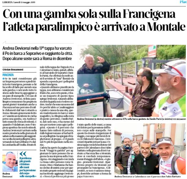 Libertà (Piacenza) – 12/05/2019