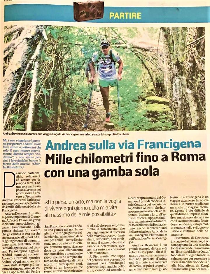 Il Tirreno – 15/08/2019