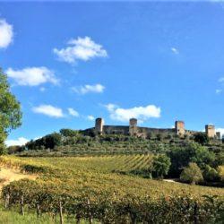 1 km da Monteriggioni