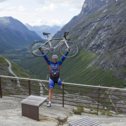 Trollstigen in bicicletta