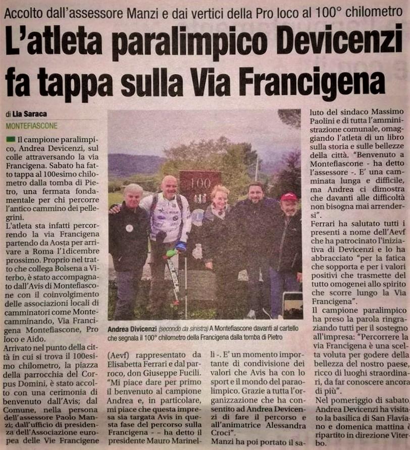 Corriere di Viterbo – 12/11/2019