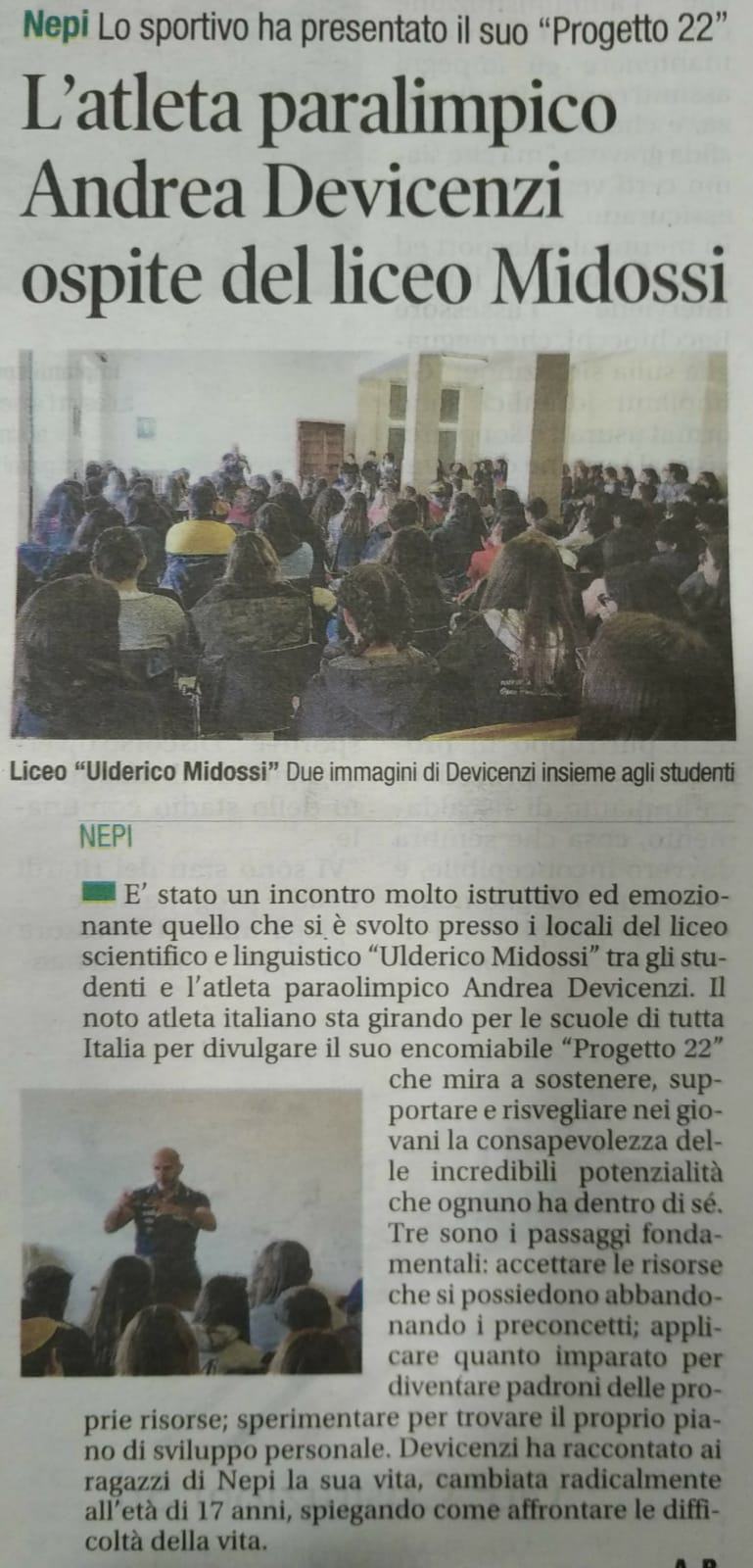 Il Corriere di Viterbo – 22/02/2020