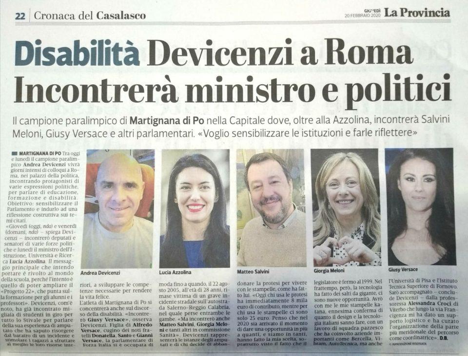 La Provincia di Cremona – 20/02/2020