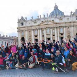 Via Francigena - Arrivo a Roma