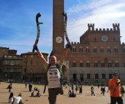Via Francigena - Arrivo a Siena