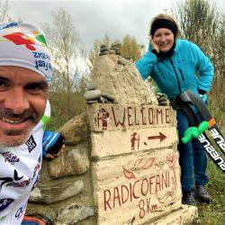 Via Francigena - Gallina con Rita